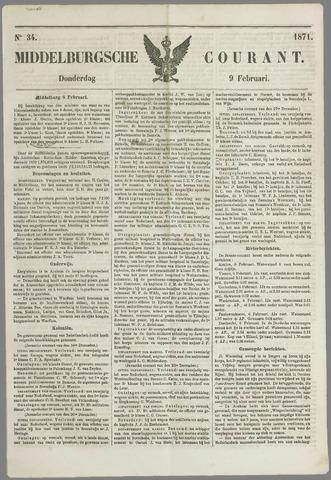 Middelburgsche Courant 1871-02-09