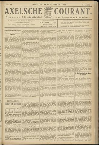 Axelsche Courant 1925-09-29