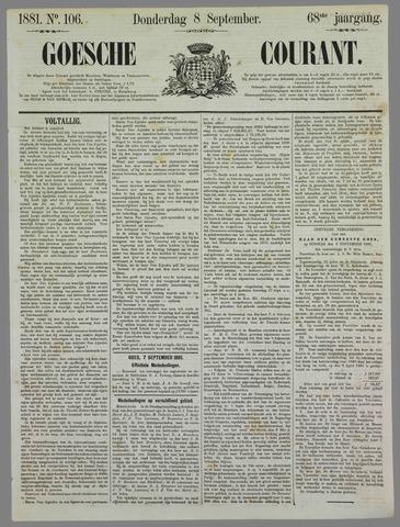 Goessche Courant 1881-09-08