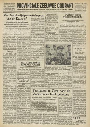 Provinciale Zeeuwse Courant 1950-10-05
