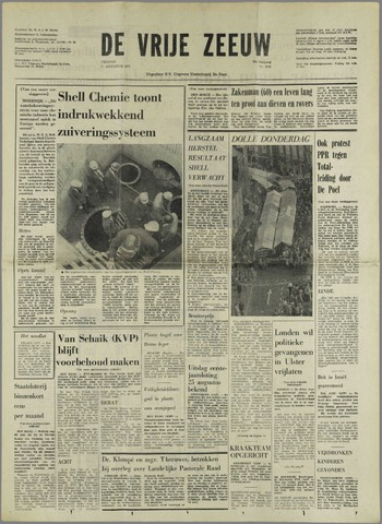 de Vrije Zeeuw 1972-08-11