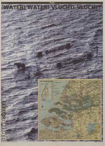 Watersnood documentatie 1953 - kranten 1993