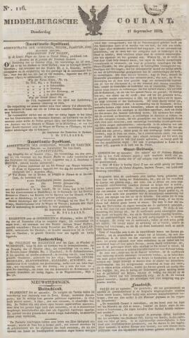Middelburgsche Courant 1832-09-27