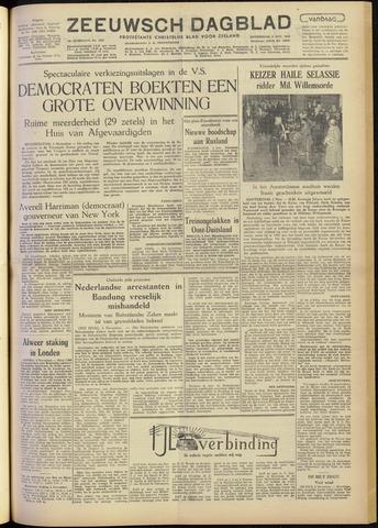 Zeeuwsch Dagblad 1954-11-04