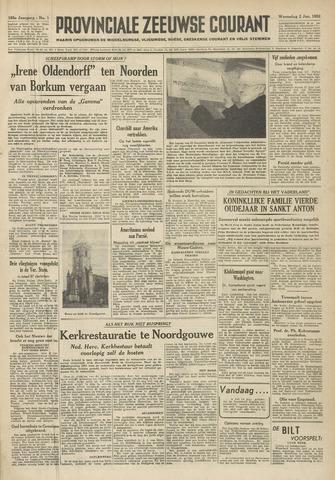 Provinciale Zeeuwse Courant 1952-01-02