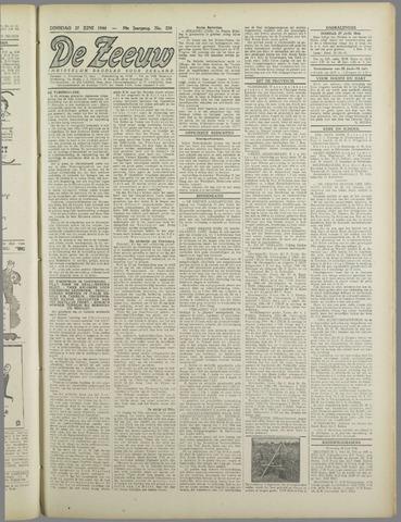 De Zeeuw. Christelijk-historisch nieuwsblad voor Zeeland 1944-06-27