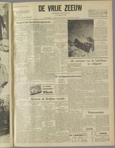 de Vrije Zeeuw 1961-08-31