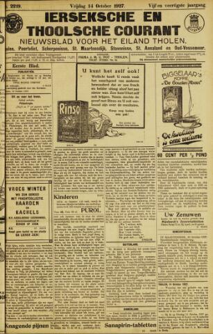 Ierseksche en Thoolsche Courant 1927-10-14