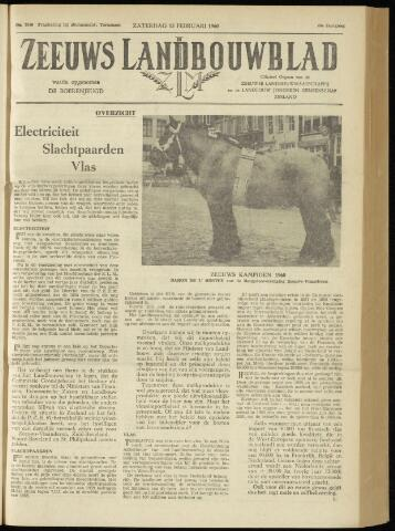 Zeeuwsch landbouwblad ... ZLM land- en tuinbouwblad 1960-02-13