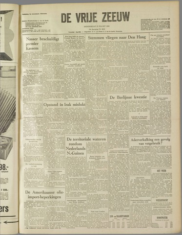 de Vrije Zeeuw 1959-03-12