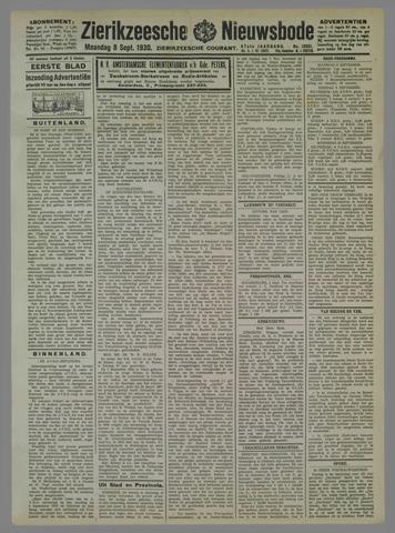 Zierikzeesche Nieuwsbode 1930-09-08