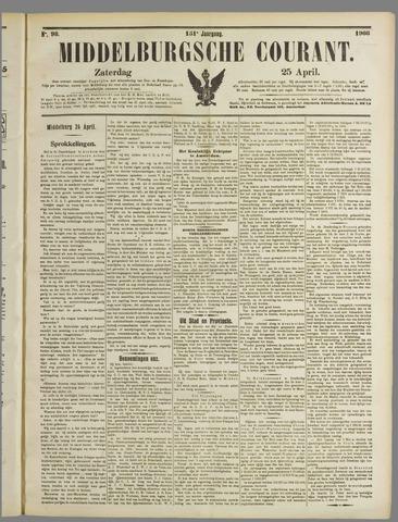 Middelburgsche Courant 1908-04-25