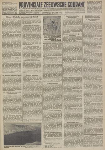 Provinciale Zeeuwse Courant 1942-07-27