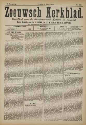 Zeeuwsche kerkbode, weekblad gewijd aan de belangen der gereformeerde kerken/ Zeeuwsch kerkblad 1909-06-04