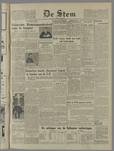 de Stem 1948-04-22