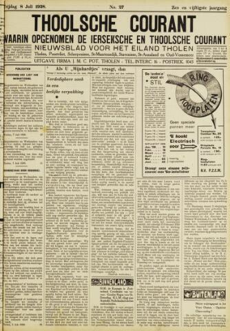 Ierseksche en Thoolsche Courant 1938-07-08