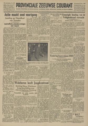 Provinciale Zeeuwse Courant 1948-12-22