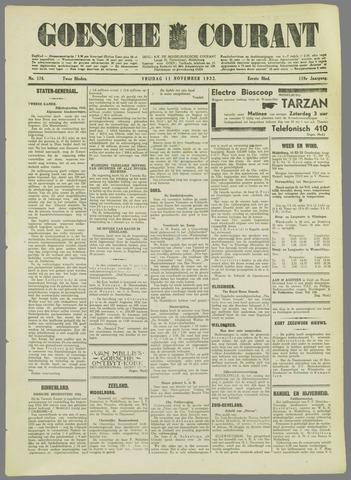 Goessche Courant 1932-11-11