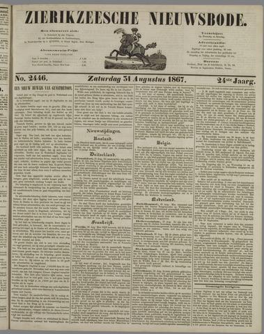 Zierikzeesche Nieuwsbode 1867-08-31