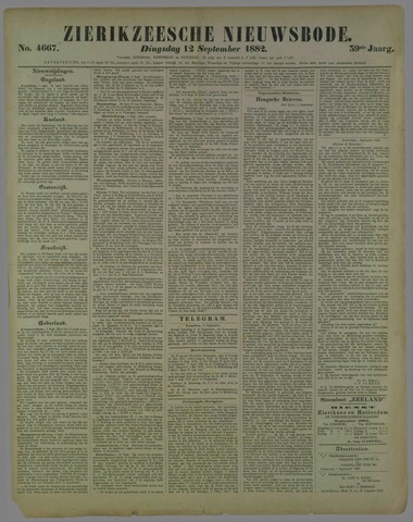 Zierikzeesche Nieuwsbode 1882-09-12