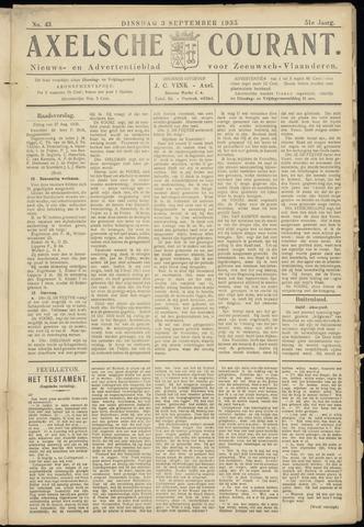 Axelsche Courant 1935-09-03