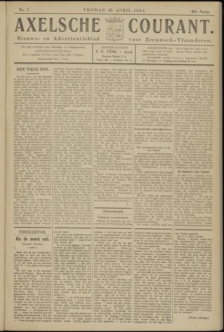 Axelsche Courant 1924-04-25