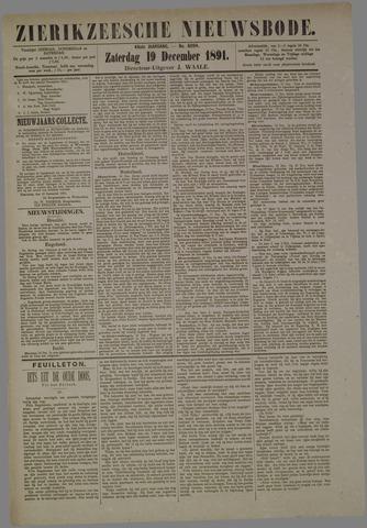 Zierikzeesche Nieuwsbode 1891-12-19