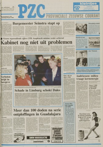 Provinciale Zeeuwse Courant 1992-04-23
