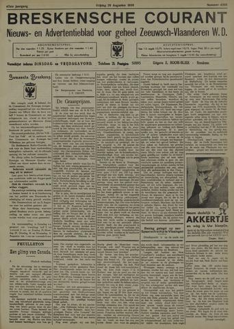 Breskensche Courant 1938-08-26