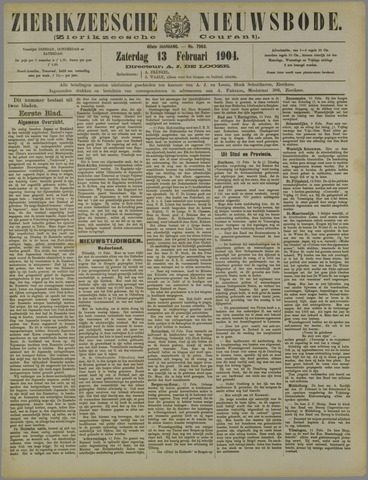 Zierikzeesche Nieuwsbode 1904-02-13