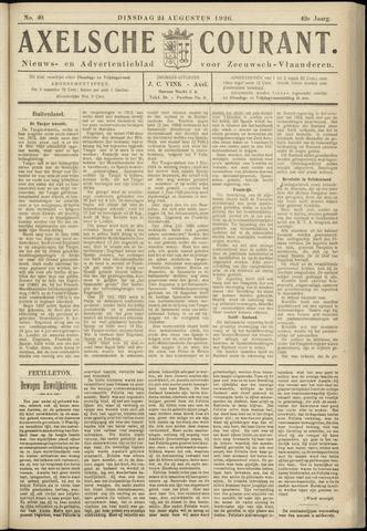 Axelsche Courant 1926-08-24
