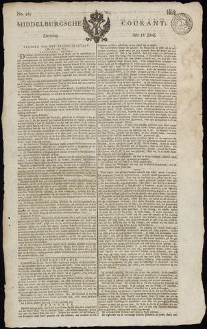 Middelburgsche Courant 1814-06-11