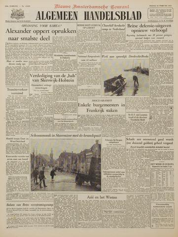 Watersnood documentatie 1953 - kranten 1953-02-20