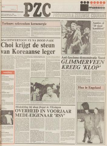 Provinciale Zeeuwse Courant 1979-10-29