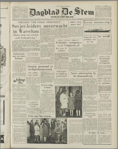 de Stem 1956-10-20