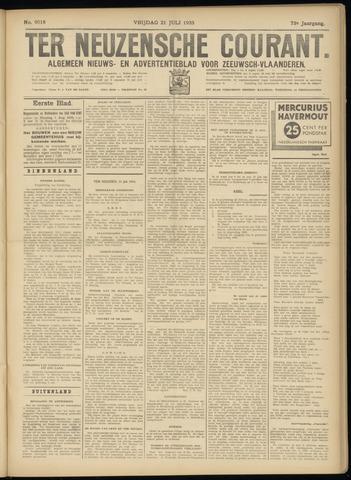Ter Neuzensche Courant. Algemeen Nieuws- en Advertentieblad voor Zeeuwsch-Vlaanderen / Neuzensche Courant ... (idem) / (Algemeen) nieuws en advertentieblad voor Zeeuwsch-Vlaanderen 1933-07-21