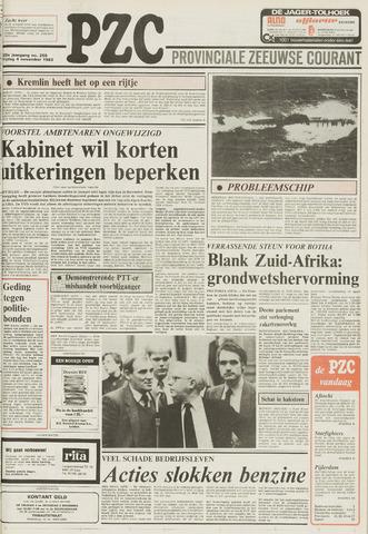 Provinciale Zeeuwse Courant 1983-11-04