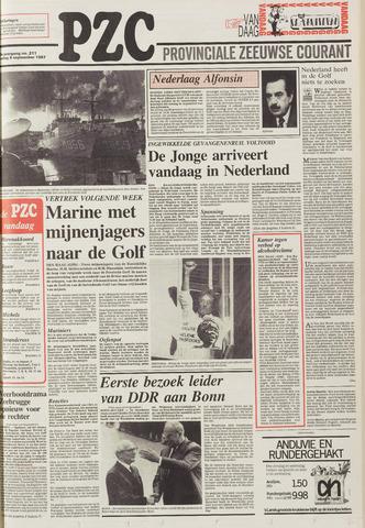 Provinciale Zeeuwse Courant 1987-09-08