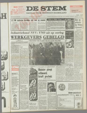 de Stem 1977-01-04
