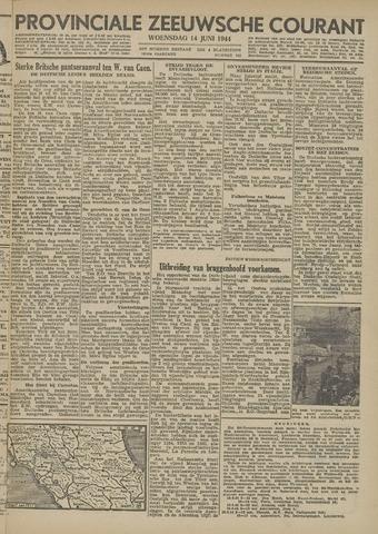 Provinciale Zeeuwse Courant 1944-06-14