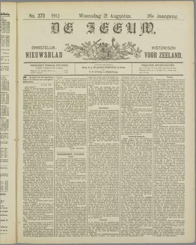 De Zeeuw. Christelijk-historisch nieuwsblad voor Zeeland 1912-08-21