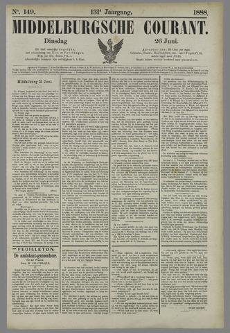 Middelburgsche Courant 1888-06-26