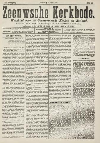 Zeeuwsche kerkbode, weekblad gewijd aan de belangen der gereformeerde kerken/ Zeeuwsch kerkblad 1921-06-03