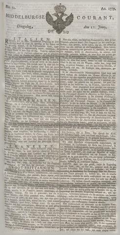 Middelburgsche Courant 1777-06-17