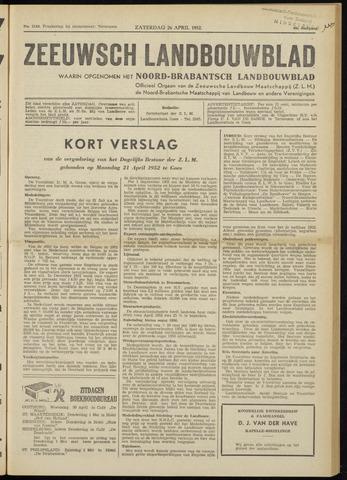 Zeeuwsch landbouwblad ... ZLM land- en tuinbouwblad 1952-04-26