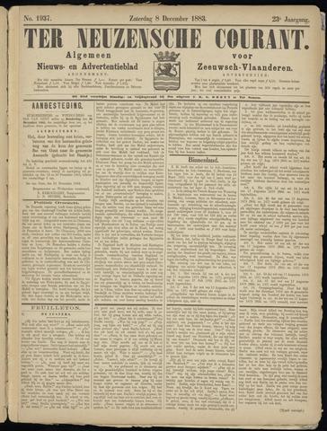 Ter Neuzensche Courant. Algemeen Nieuws- en Advertentieblad voor Zeeuwsch-Vlaanderen / Neuzensche Courant ... (idem) / (Algemeen) nieuws en advertentieblad voor Zeeuwsch-Vlaanderen 1883-12-08
