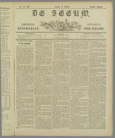 De Zeeuw. Christelijk-historisch nieuwsblad voor Zeeland 1898-11-19