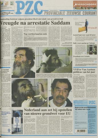 Provinciale Zeeuwse Courant 2003-12-15
