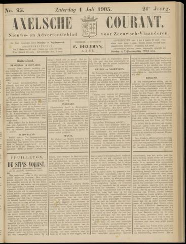 Axelsche Courant 1905-07-01