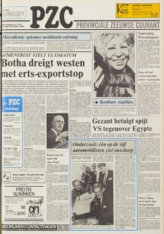 Provinciale Zeeuwse Courant 1985-10-22